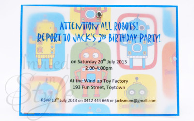 Event invitations invited in style