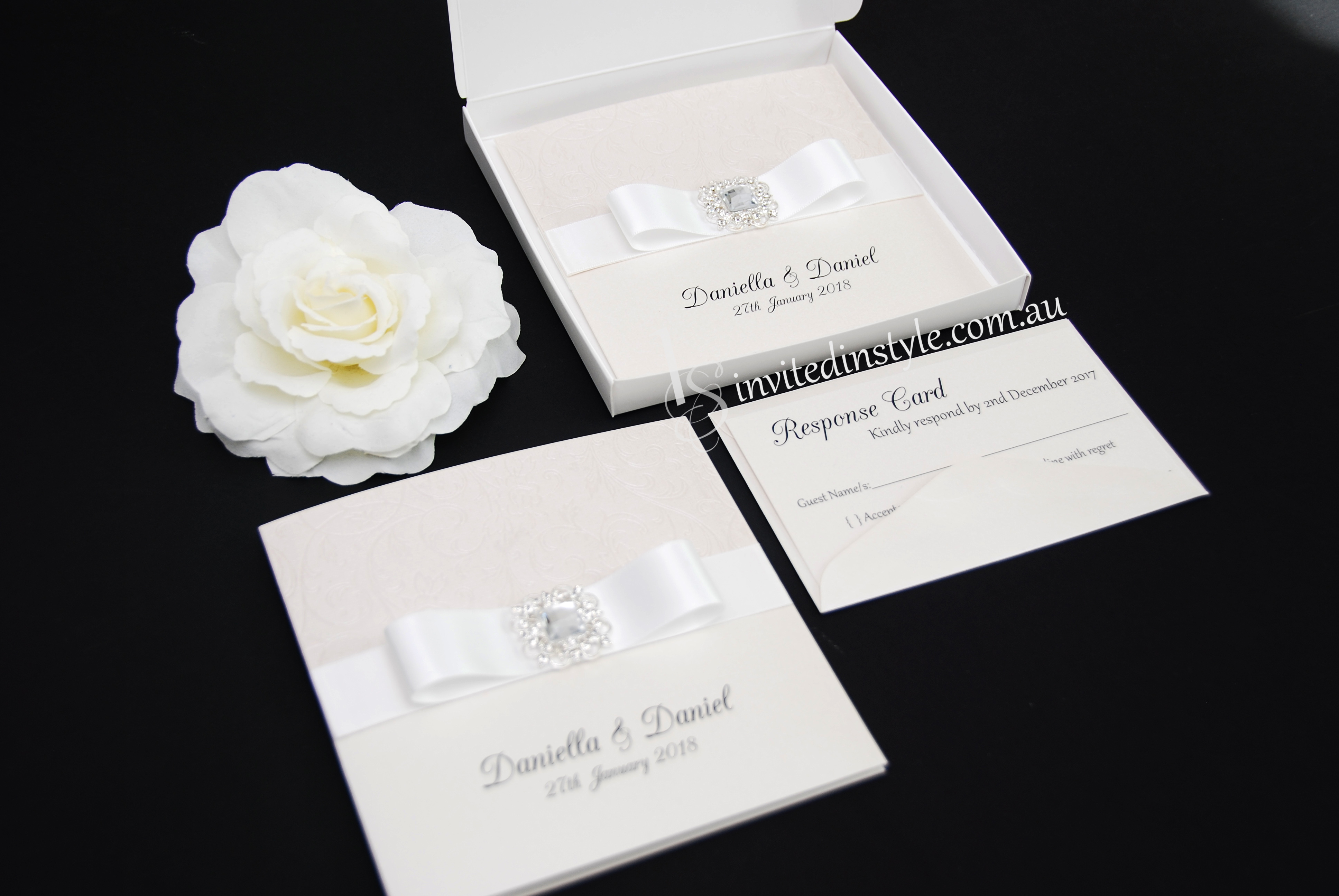 Boxed Invitations | Invited in Style