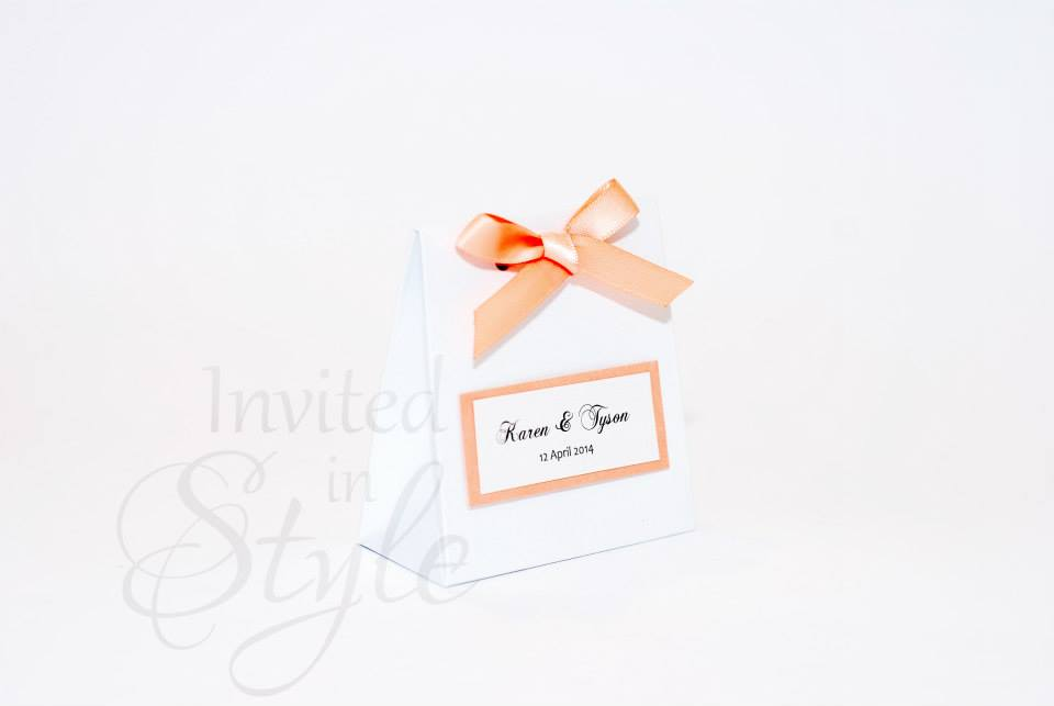 Bonbonniere, Wedding Favours & Gift Tags Invited in Style