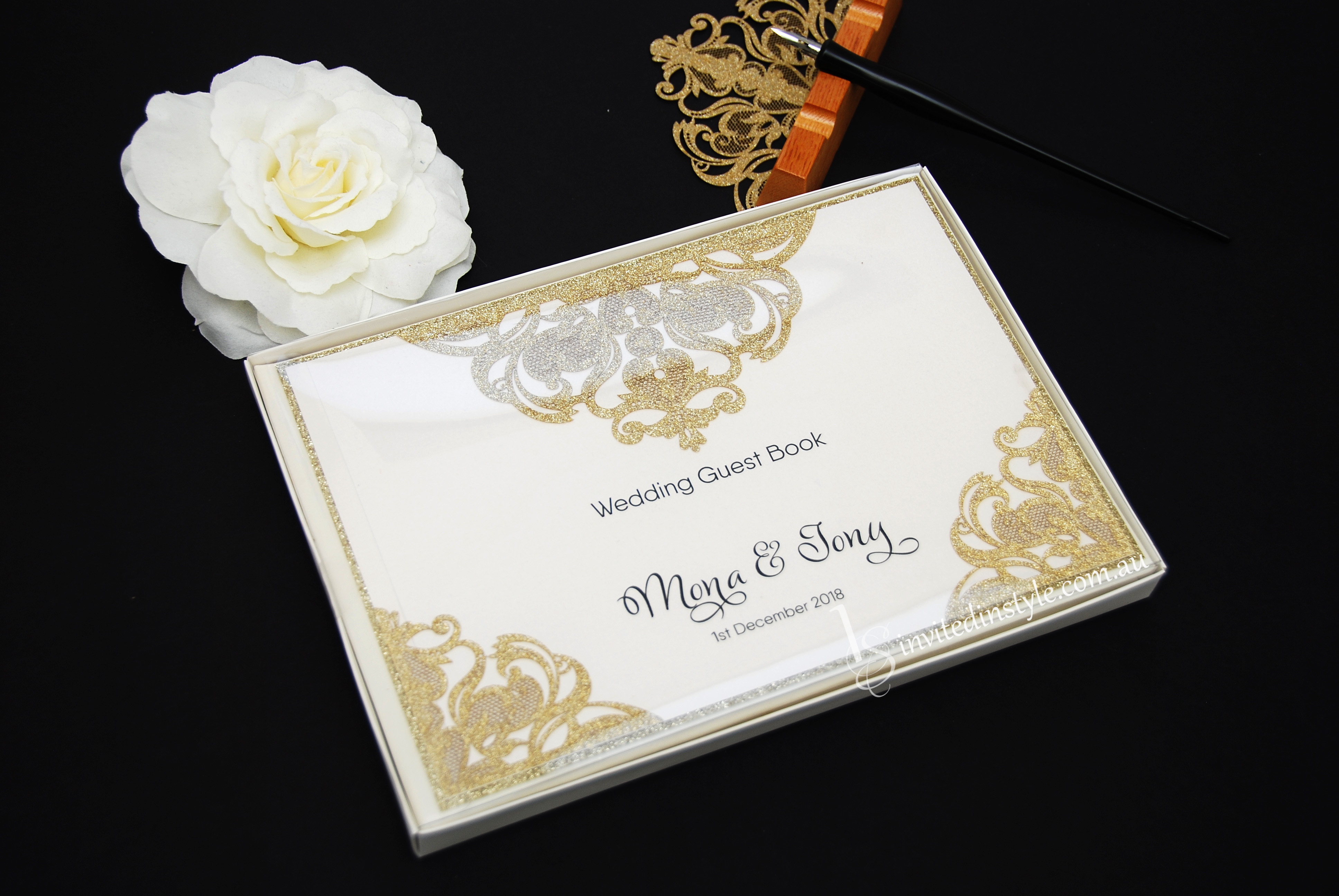 Guest Books | Invited in Style